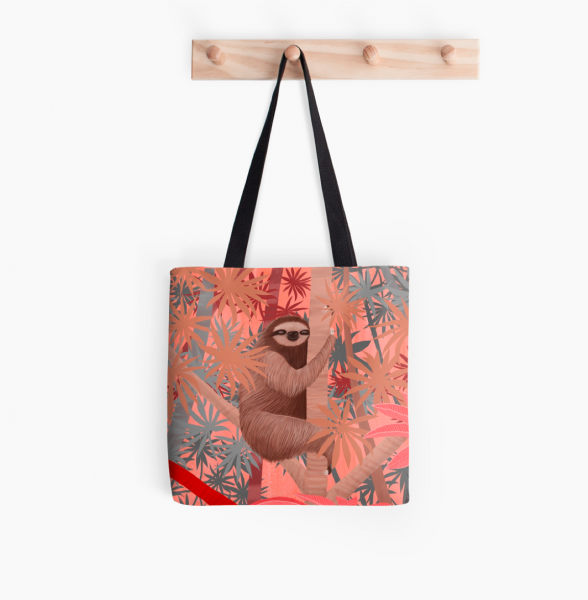 sloth-tote